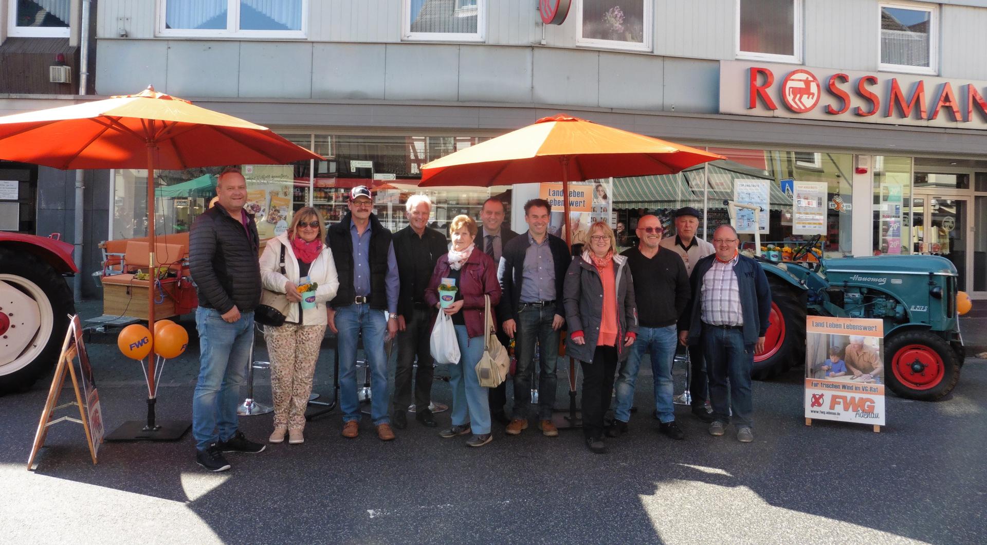 FWG Adenau - Präsentation auf dem Frühlingsmarkt 2019